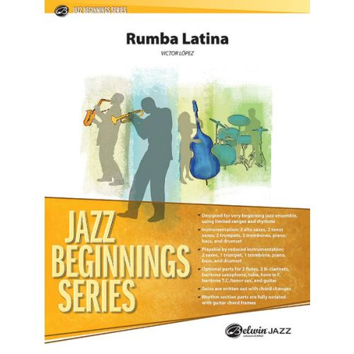 ALFRED PUBLISHING LOPEZ VICTOR - RUMBA LATINA - JAZZ BAND