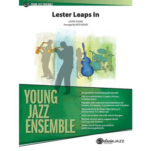 ALFRED PUBLISHING LESTER LEAPS IN - JAZZ BAND