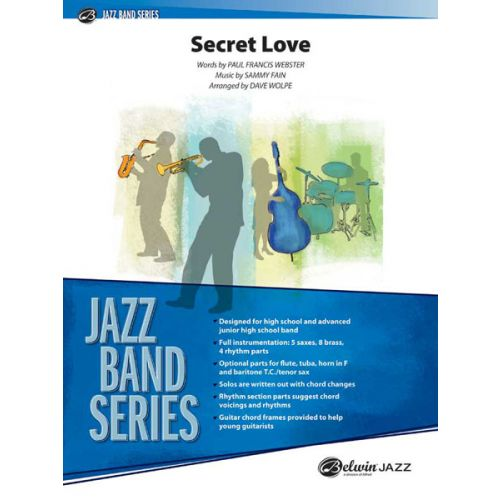 ALFRED PUBLISHING SECRET LOVE - JAZZ BAND