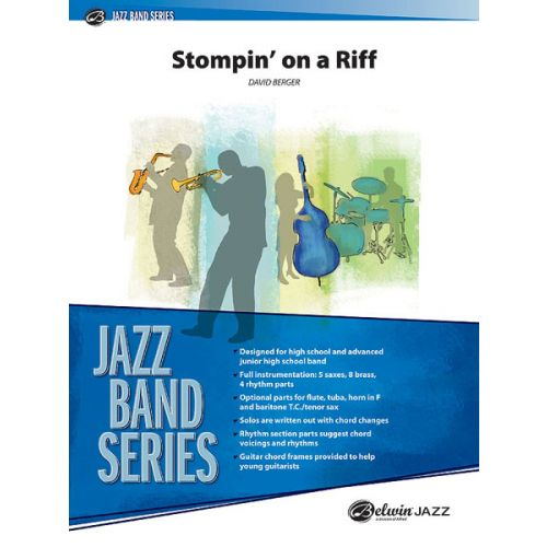 ALFRED PUBLISHING BERGER DAVID - STOMPIN ON A RIFF - JAZZ BAND