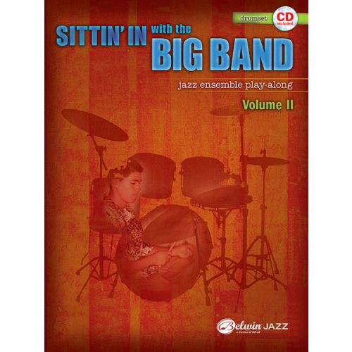 ALFRED PUBLISHING SITTIN' IN WITH THE BIG BAND II - DRUMS & PERCUSSION