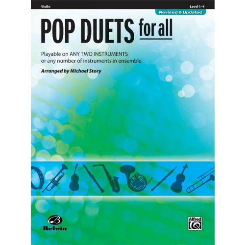 ALFRED PUBLISHING STORY MICHAEL - POP DUETS FOR ALL - VIOLIN