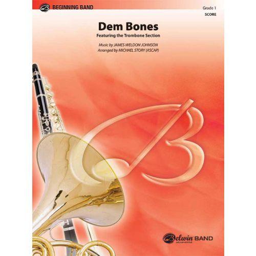 ALFRED PUBLISHING DEM BONES - SYMPHONIC WIND BAND