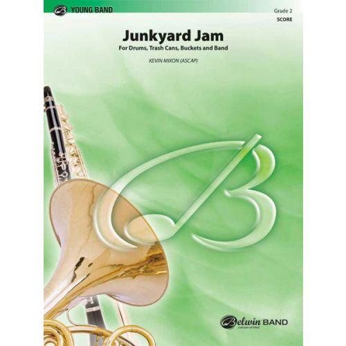 ALFRED PUBLISHING MIXON KEVIN - JUNKYARD JAM - SYMPHONIC WIND BAND
