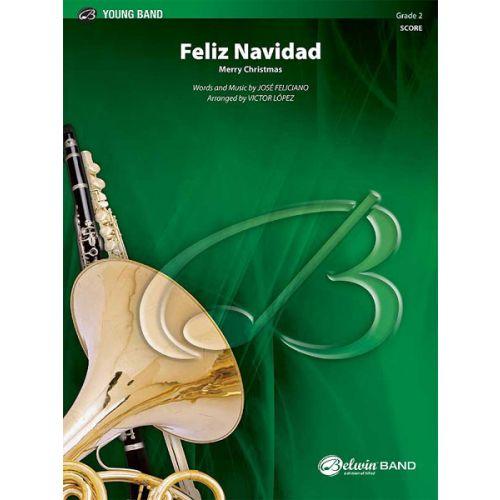 ALFRED PUBLISHING FELICIANO JOSE - FELIZ NAVIDAD - SYMPHONIC WIND BAND