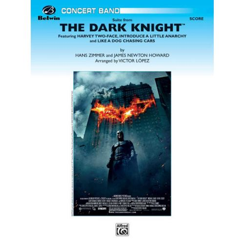 ALFRED PUBLISHING DARK KNIGHT SUITE - SYMPHONIC WIND BAND