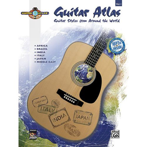 ALFRED PUBLISHING GUITAR ATLAS COMPLETE 1 + CD - GUITAR