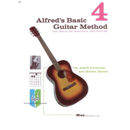 ALFRED PUBLISHING ALFRED'S BASIC GUITAR METHOD BOOK 4 - GUITAR
