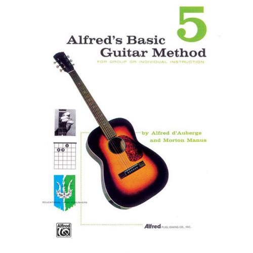 ALFRED PUBLISHING ALFRED'S BASIC GUITAR METHOD BOOK 5 - GUITAR
