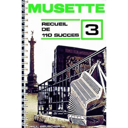 PAUL BEUSCHER PUBLICATIONS SUCCÈS MUSETTE (110) VOL.3 - ACCORDÉON