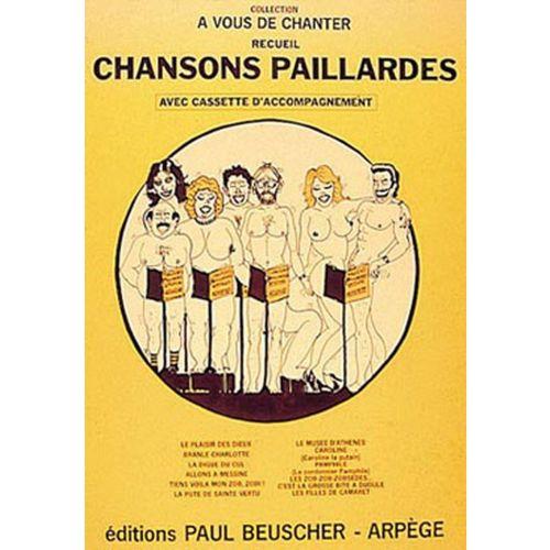 PAUL BEUSCHER PUBLICATIONS CHANSONS PAILLARDES - RECUEIL - PVG