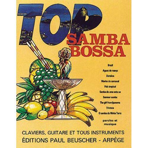 PAUL BEUSCHER PUBLICATIONS TOP SAMBA BOSSA - PVG