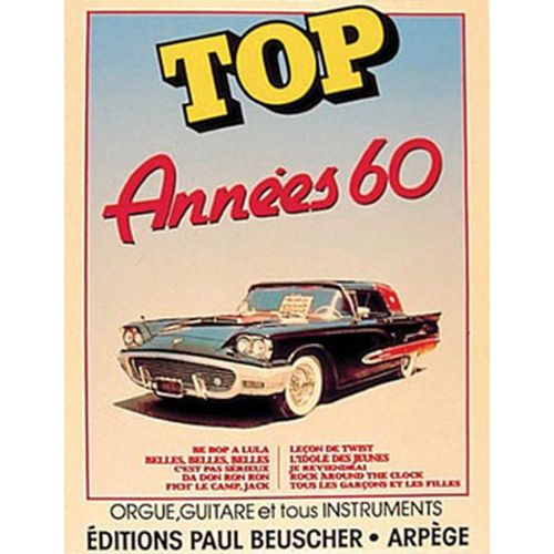 PAUL BEUSCHER PUBLICATIONS TOP DES ANNEES 60 - PVG