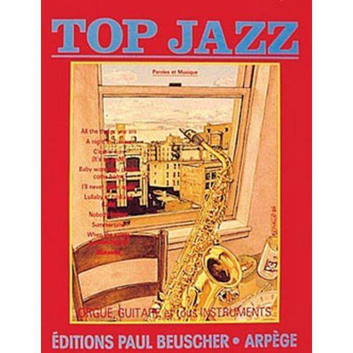 PAUL BEUSCHER PUBLICATIONS TOP JAZZ - PVG
