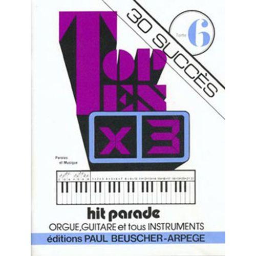 PAUL BEUSCHER PUBLICATIONS TOP TEN X 3 30 SUCCES VOL.6 - PVG