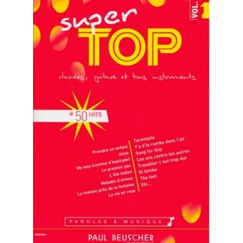 PAUL BEUSCHER PUBLICATIONS SUPER TOP N°1