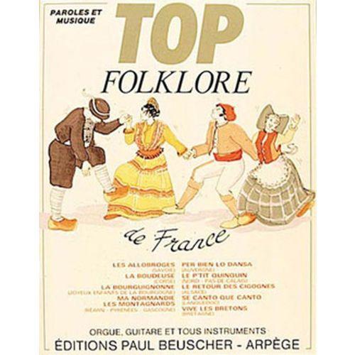 PAUL BEUSCHER PUBLICATIONS TOP FOLKLORE DE FRANCE - PVG