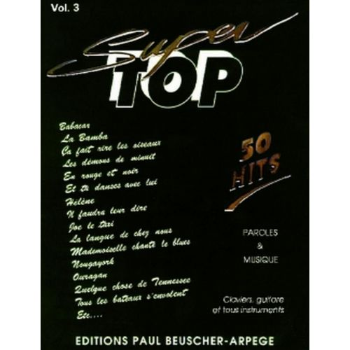 PAUL BEUSCHER PUBLICATIONS SUPER TOP N°3