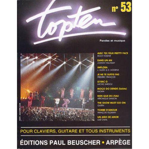 PAUL BEUSCHER PUBLICATIONS TOP TEN N°53 - PVG