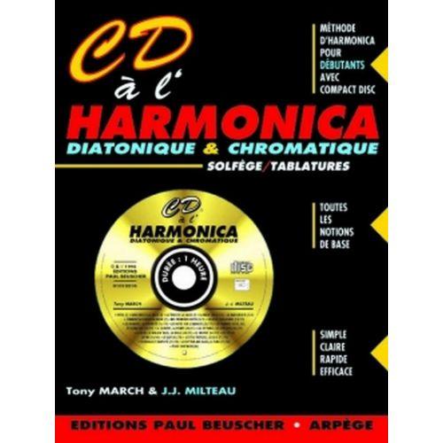 PAUL BEUSCHER PUBLICATIONS MILTEAU J.-J. / MARCH T. - CD À L'HARMONICA + CD