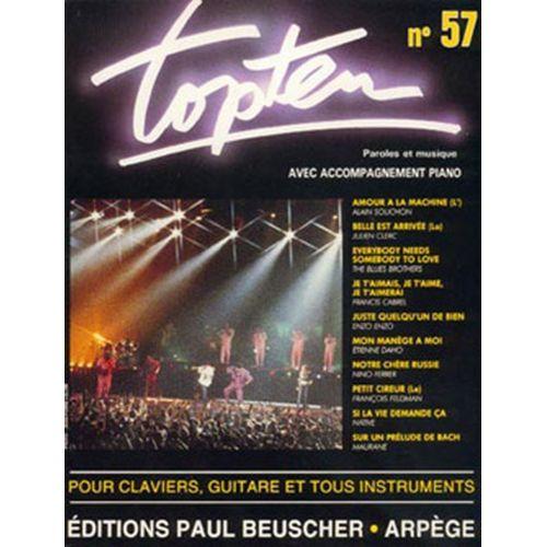 PAUL BEUSCHER PUBLICATIONS TOP TEN N°57 - PVG