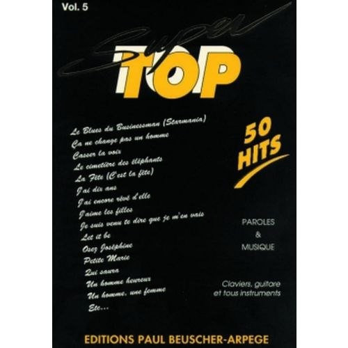 PAUL BEUSCHER PUBLICATIONS SUPER TOP N°5