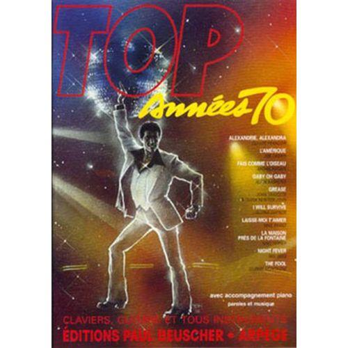 PAUL BEUSCHER PUBLICATIONS TOP DES ANNEES 70 - PVG