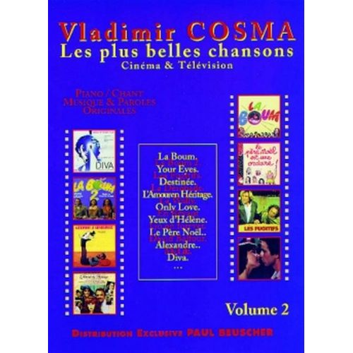 PAUL BEUSCHER PUBLICATIONS COSMA VLADIMIR - MUSIQUE DE FILMS VOL.2 - PVG