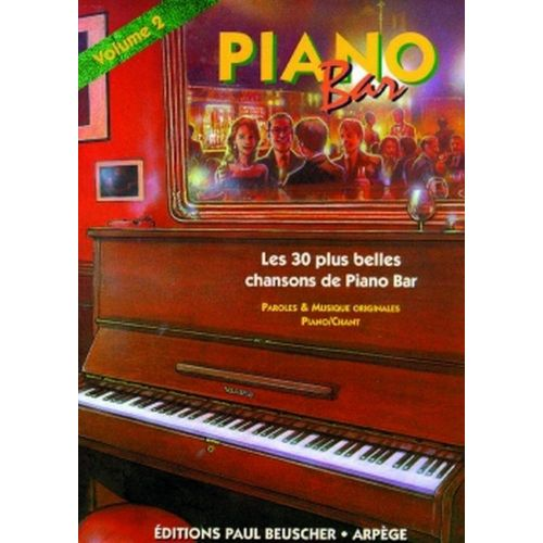 PAUL BEUSCHER PUBLICATIONS PIANO BAR VOL.2