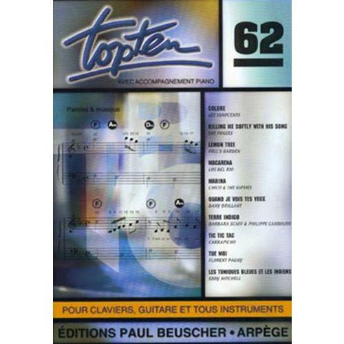 PAUL BEUSCHER PUBLICATIONS TOP TEN N°62 - PVG