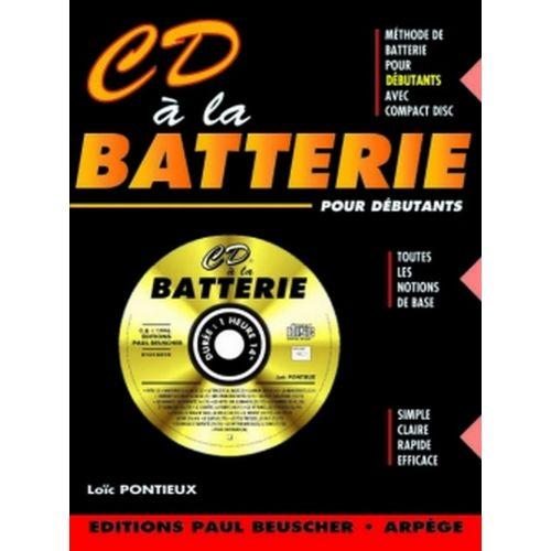 PAUL BEUSCHER PUBLICATIONS PONTIEUX LOÏC - CD À LA BATTERIE + CD