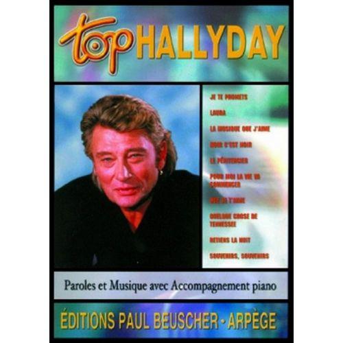PAUL BEUSCHER PUBLICATIONS HALLYDAY JOHNNY - TOP HALLYDAY - PVG