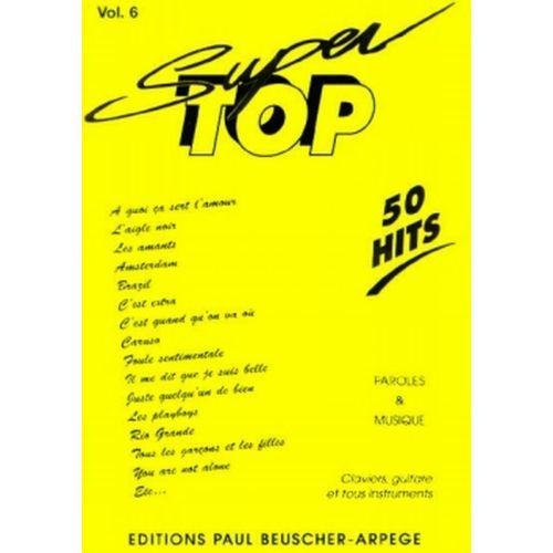 PAUL BEUSCHER PUBLICATIONS SUPER TOP N°6