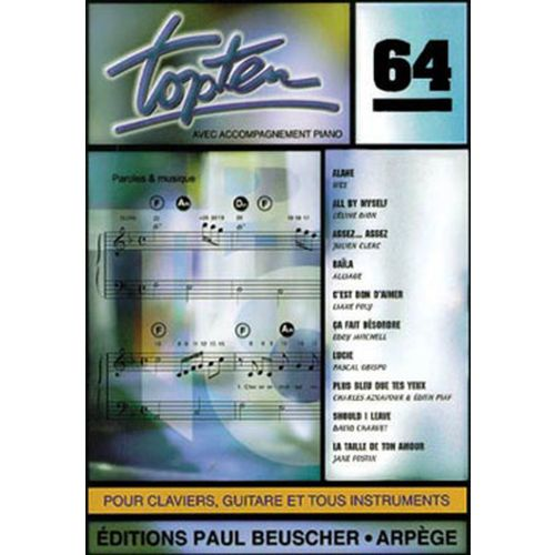 PAUL BEUSCHER PUBLICATIONS TOP TEN N°64 - PVG