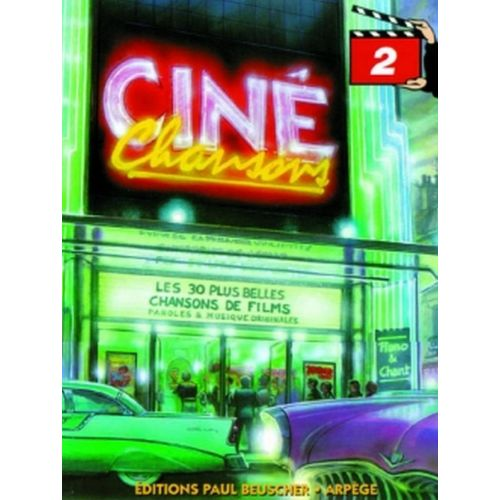 PAUL BEUSCHER PUBLICATIONS CINÉ CHANSONS VOL.2 - PVG