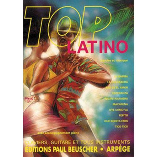 PAUL BEUSCHER PUBLICATIONS TOP LATINO - PVG