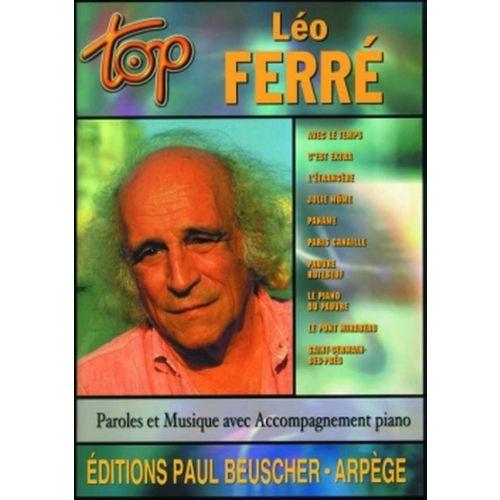 PAUL BEUSCHER PUBLICATIONS FERRE LÉO - TOP FERRE - PVG