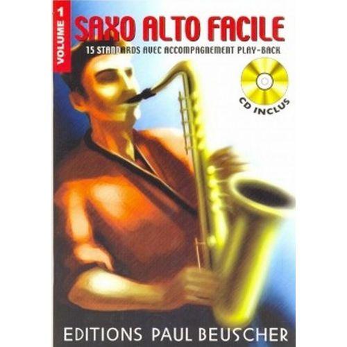 PAUL BEUSCHER PUBLICATIONS SAXOPHONE FACILE VOL.1 + CD