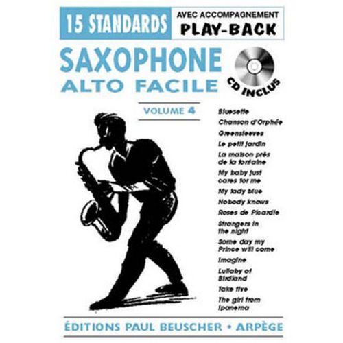 PAUL BEUSCHER PUBLICATIONS SAXOPHONE FACILE VOL.4 + CD