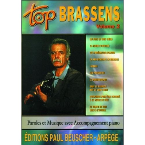 PAUL BEUSCHER PUBLICATIONS BRASSENS GEORGES - TOP BRASSENS VOL.2 - PVG