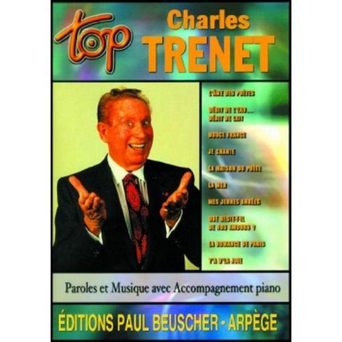 PAUL BEUSCHER PUBLICATIONS TRENET CHARLES - TOP TRENET - PVG