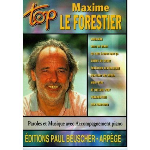 PAUL BEUSCHER PUBLICATIONS LEFORESTIER MAXIME - TOP LE FORESTIER - PVG