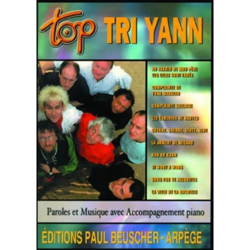 PAUL BEUSCHER PUBLICATIONS TRI YANN - TOP TRI YANN - PVG