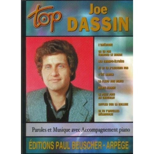 PAUL BEUSCHER PUBLICATIONS DASSIN JOE - TOP DASSIN - PVG