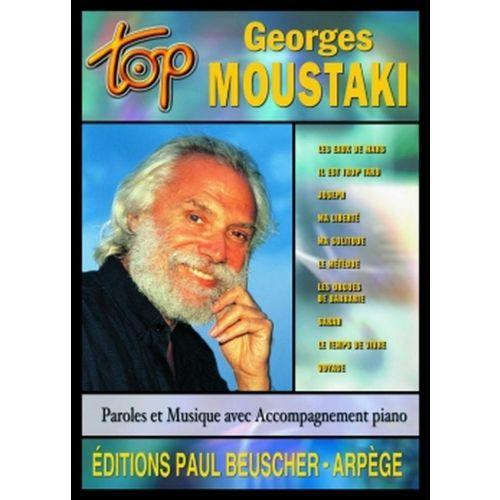 PAUL BEUSCHER PUBLICATIONS MOUSTAKI GEORGES - TOP MOUSTAKI - PVG