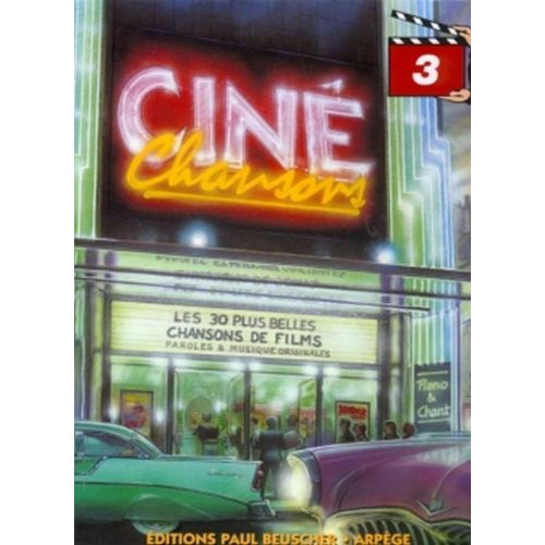 PAUL BEUSCHER PUBLICATIONS CINÉ CHANSONS VOL.3 - PVG