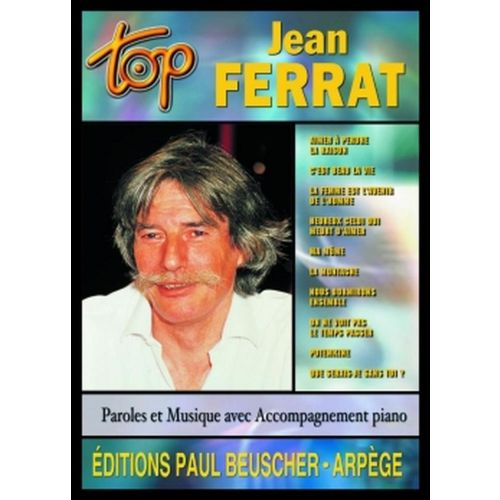 PAUL BEUSCHER PUBLICATIONS FERRAT JEAN - TOP FERRAT - PVG