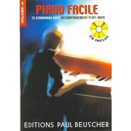 PAUL BEUSCHER PUBLICATIONS PIANO FACILE VOL.1 + CD