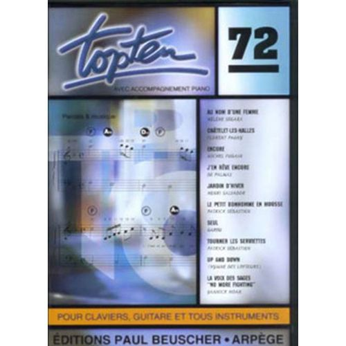 PAUL BEUSCHER PUBLICATIONS TOP TEN N°72 - PVG