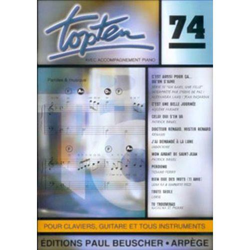 PAUL BEUSCHER PUBLICATIONS TOP TEN N°74 - PVG